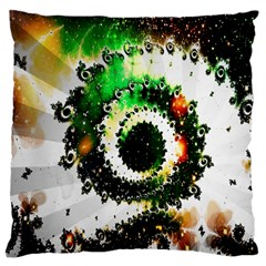 Fractal Universe Computer Graphic Large Cushion Case (One Side)