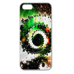 Fractal Universe Computer Graphic Apple Seamless iPhone 5 Case (Clear)