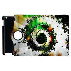 Fractal Universe Computer Graphic Apple iPad 2 Flip 360 Case