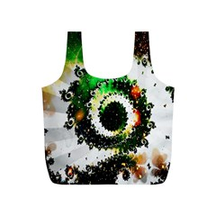Fractal Universe Computer Graphic Full Print Recycle Bags (S)