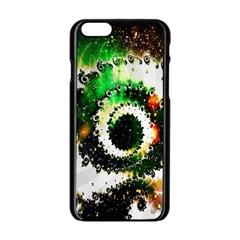 Fractal Universe Computer Graphic Apple iPhone 6/6S Black Enamel Case