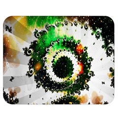 Fractal Universe Computer Graphic Double Sided Flano Blanket (medium)
