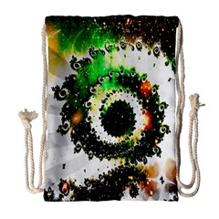 Fractal Universe Computer Graphic Drawstring Bag (large)