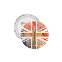 Union Jack Abstract Watercolour Painting 1 75  Buttons
