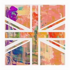 Union Jack Abstract Watercolour Painting Medium Glasses Cloth