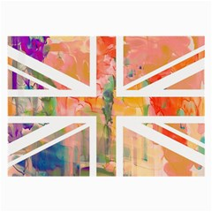 Union Jack Abstract Watercolour Painting Large Glasses Cloth (2 Side)