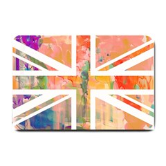 Union Jack Abstract Watercolour Painting Small Doormat
