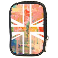 Union Jack Abstract Watercolour Painting Compact Camera Cases
