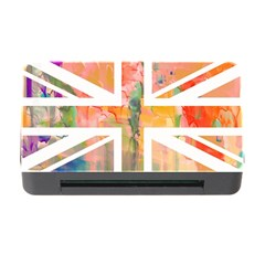 Union Jack Abstract Watercolour Painting Memory Card Reader with CF