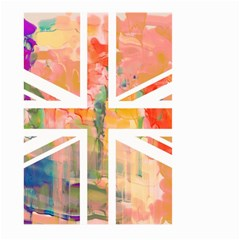 Union Jack Abstract Watercolour Painting Large Garden Flag (Two Sides)