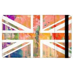 Union Jack Abstract Watercolour Painting Apple iPad 2 Flip Case