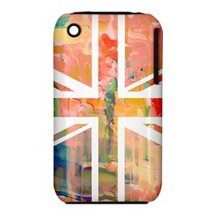 Union Jack Abstract Watercolour Painting iPhone 3S/3GS