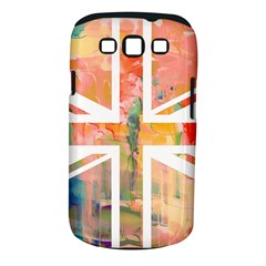 Union Jack Abstract Watercolour Painting Samsung Galaxy S III Classic Hardshell Case (PC+Silicone)