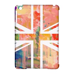 Union Jack Abstract Watercolour Painting Apple iPad Mini Hardshell Case (Compatible with Smart Cover)