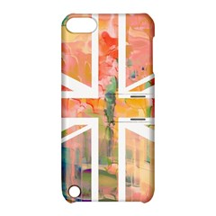 Union Jack Abstract Watercolour Painting Apple iPod Touch 5 Hardshell Case with Stand