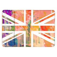 Union Jack Abstract Watercolour Painting Samsung Galaxy Tab 8 9  P7300 Flip Case