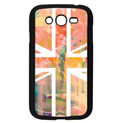 Union Jack Abstract Watercolour Painting Samsung Galaxy Grand DUOS I9082 Case (Black)