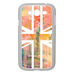 Union Jack Abstract Watercolour Painting Samsung Galaxy Grand DUOS I9082 Case (White)