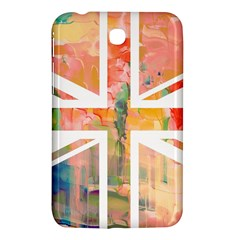 Union Jack Abstract Watercolour Painting Samsung Galaxy Tab 3 (7 ) P3200 Hardshell Case