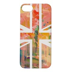 Union Jack Abstract Watercolour Painting Apple iPhone 5S/ SE Hardshell Case