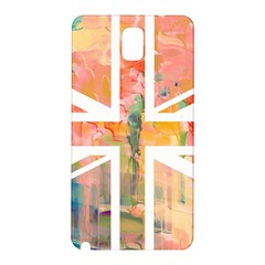 Union Jack Abstract Watercolour Painting Samsung Galaxy Note 3 N9005 Hardshell Back Case