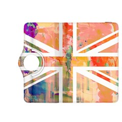 Union Jack Abstract Watercolour Painting Kindle Fire Hdx 8 9  Flip 360 Case