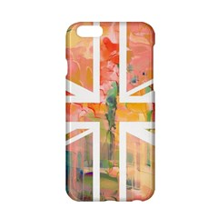 Union Jack Abstract Watercolour Painting Apple iPhone 6/6S Hardshell Case