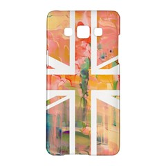Union Jack Abstract Watercolour Painting Samsung Galaxy A5 Hardshell Case