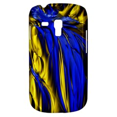 Blue And Gold Fractal Lava Galaxy S3 Mini