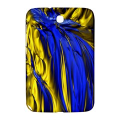 Blue And Gold Fractal Lava Samsung Galaxy Note 8.0 N5100 Hardshell Case