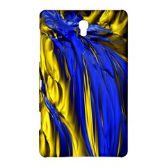 Blue And Gold Fractal Lava Samsung Galaxy Tab S (8 4 ) Hardshell Case