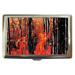 Forest Fire Fractal Background Cigarette Money Cases