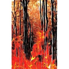 Forest Fire Fractal Background 5 5  X 8 5  Notebooks