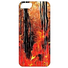 Forest Fire Fractal Background Apple iPhone 5 Classic Hardshell Case