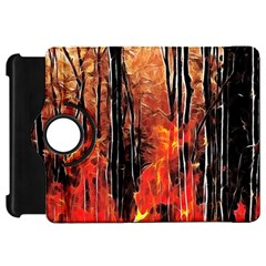 Forest Fire Fractal Background Kindle Fire Hd 7