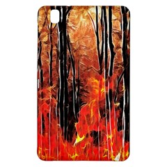Forest Fire Fractal Background Samsung Galaxy Tab Pro 8.4 Hardshell Case