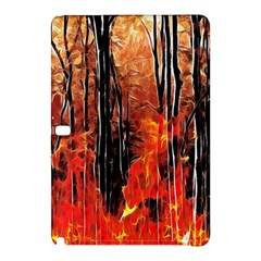 Forest Fire Fractal Background Samsung Galaxy Tab Pro 12 2 Hardshell Case