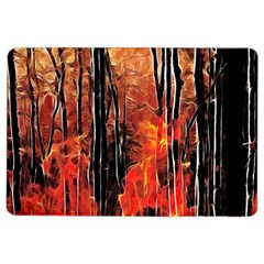 Forest Fire Fractal Background iPad Air 2 Flip