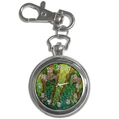 Colorful Chameleon Skin Texture Key Chain Watches