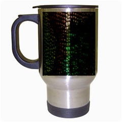 Colorful Chameleon Skin Texture Travel Mug (silver Gray)