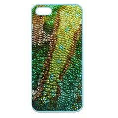 Colorful Chameleon Skin Texture Apple Seamless iPhone 5 Case (Color)