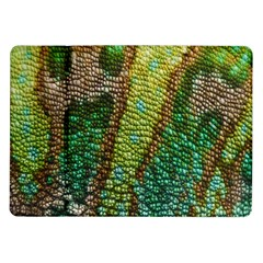 Colorful Chameleon Skin Texture Samsung Galaxy Tab 10.1  P7500 Flip Case
