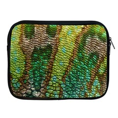 Colorful Chameleon Skin Texture Apple iPad 2/3/4 Zipper Cases