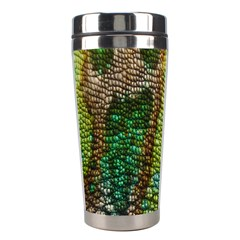 Colorful Chameleon Skin Texture Stainless Steel Travel Tumblers