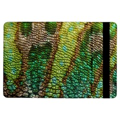 Colorful Chameleon Skin Texture iPad Air Flip