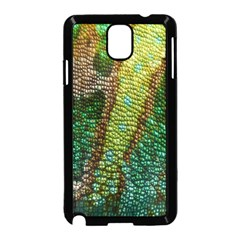 Colorful Chameleon Skin Texture Samsung Galaxy Note 3 Neo Hardshell Case (Black)