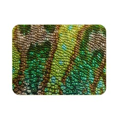 Colorful Chameleon Skin Texture Double Sided Flano Blanket (Mini)