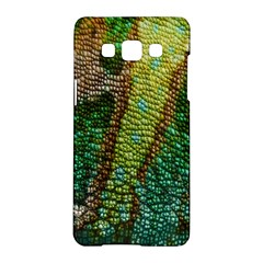 Colorful Chameleon Skin Texture Samsung Galaxy A5 Hardshell Case
