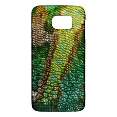 Colorful Chameleon Skin Texture Galaxy S6