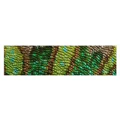 Colorful Chameleon Skin Texture Satin Scarf (Oblong)